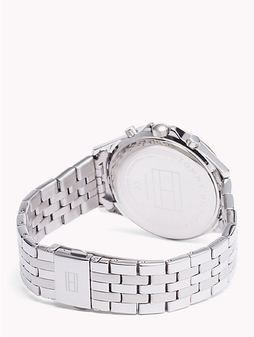 TOMMY HILFIGER Ari Stainless Steel Crystal Watch - STAINLESS STEEL - TOMMY HILFIGER Watches & Jewelry - detail image 1