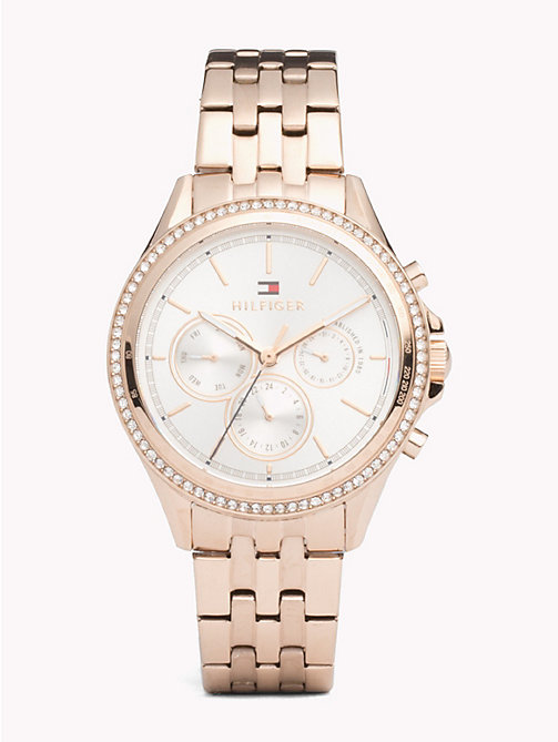 TOMMY HILFIGER Ari Carnation Gold Watch - IP CARNATION GOLD STEEL - TOMMY HILFIGER Watches & Jewelry - main image