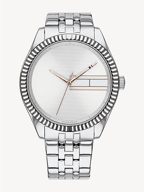 ba838c49f6 TOMMY HILFIGERStainless Steel Blank Dial Watch