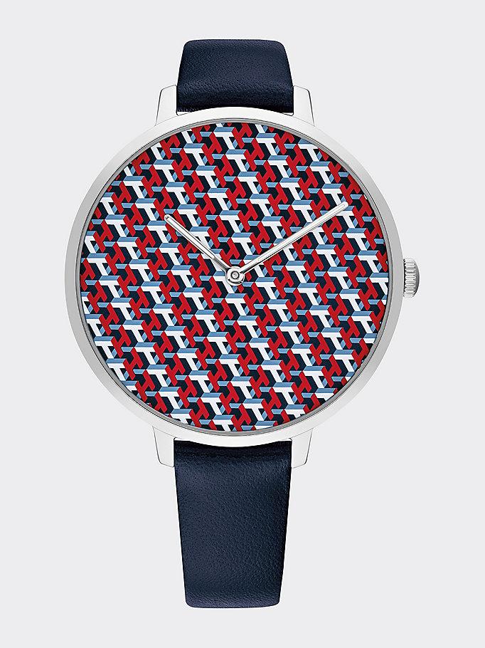 TH Monogram Watch | BLUE | Tommy Hilfiger