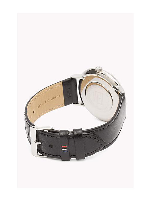 TOMMY HILFIGER Leather Strap Watch - MULTI - TOMMY HILFIGER Father's day - detail image 1