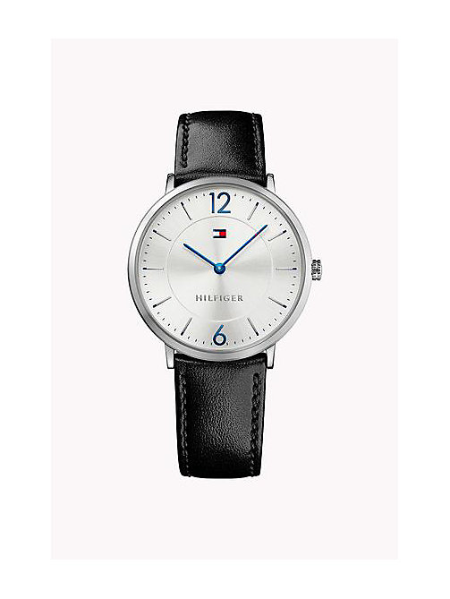 TOMMY HILFIGER Leather Strap Watch - MULTI - TOMMY HILFIGER Father's day - main image
