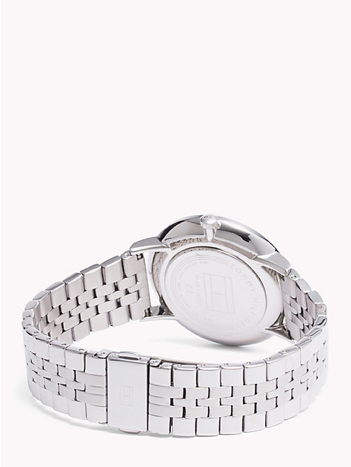 TOMMY HILFIGER Dane Stainless Steel Watch - STAINLESS STEEL - TOMMY HILFIGER Watches & Jewelry - detail image 1