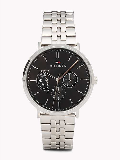 TOMMY HILFIGER Dane Stainless Steel Watch - STAINLESS STEEL - TOMMY HILFIGER Watches & Jewelry - main image