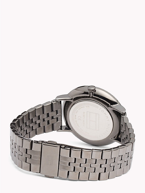 TOMMY HILFIGER Dane Grey Steel Watch - IONIC PLATED GREY 2 STEEL - TOMMY HILFIGER Watches & Jewelry - detail image 1