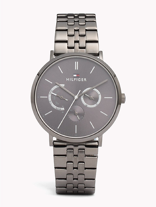 TOMMY HILFIGER Dane Grey Steel Watch - IONIC PLATED GREY 2 STEEL - TOMMY HILFIGER Watches & Jewelry - main image