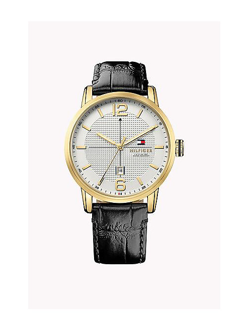 TOMMY HILFIGER GEORGE IONIC GOLD PLATED STEEL - MULTI - TOMMY HILFIGER Horloges - main image