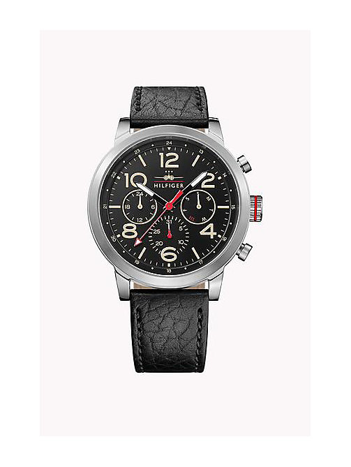 TOMMY HILFIGER JAKE STAINLESS STEEL - MULTI - TOMMY HILFIGER Horloges - main image