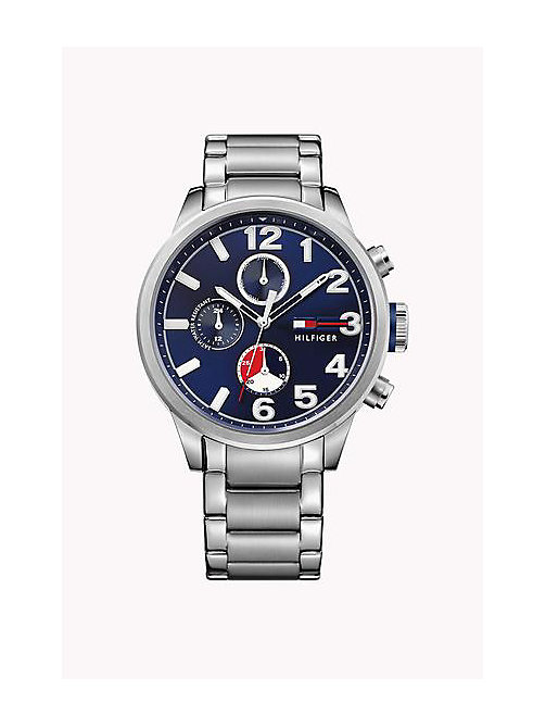 TOMMY HILFIGER JACKSON STAINLESS STEEL - MULTI - TOMMY HILFIGER Watches - main image