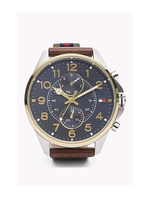 TOMMY HILFIGER Dean Two-Tone Stainless Steel - MULTI -  Horloges - main image