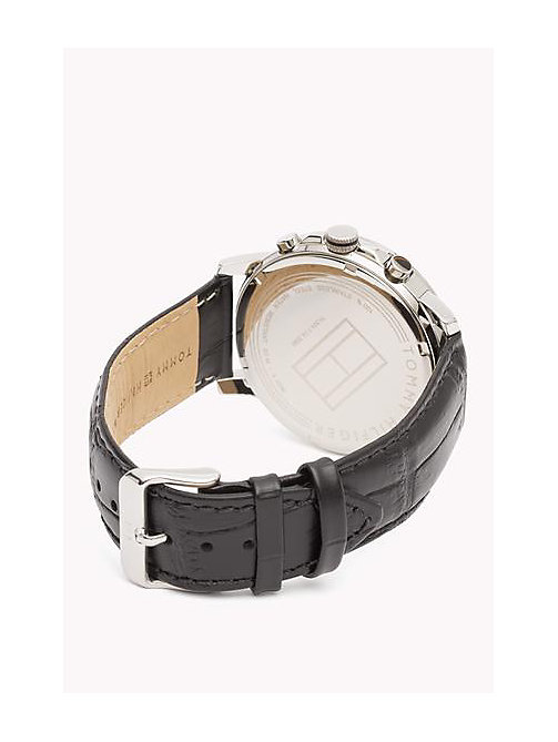 Leather Strap Watch - MULTI - TOMMY HILFIGER Bags & Accessories - detail image 1