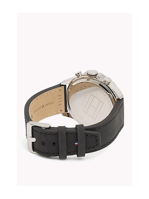 TOMMY HILFIGER Leather Strap Watch - MULTI - TOMMY HILFIGER Bags & Accessories - detail image 1