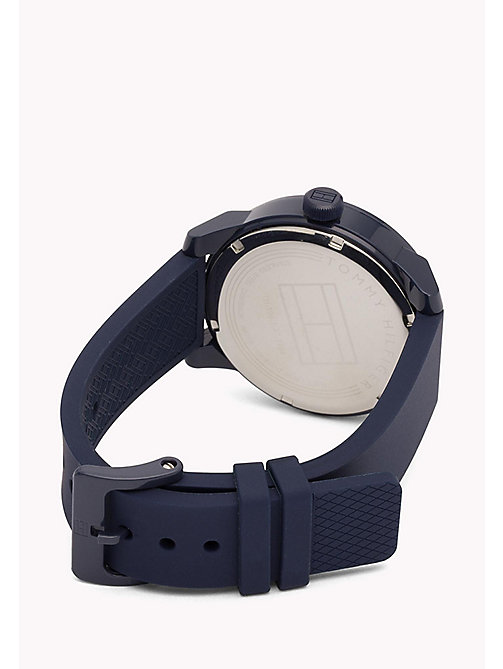 TOMMY HILFIGER Stainless Steel Silicone Strap Watch - MULTI - TOMMY HILFIGER Watches - detail image 1