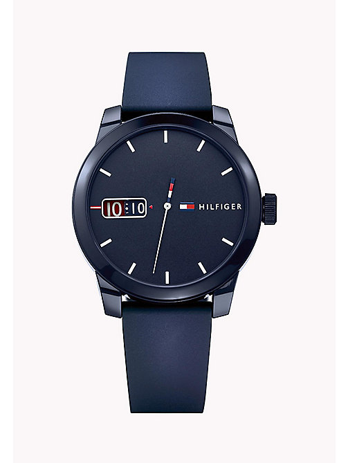 TOMMY HILFIGER Stainless Steel Silicone Strap Watch - MULTI - TOMMY HILFIGER Watches - main image