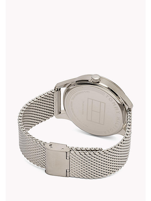 TOMMY HILFIGER Stainless Steel Mesh Strap Watch - MULTI - TOMMY HILFIGER Watches - detail image 1