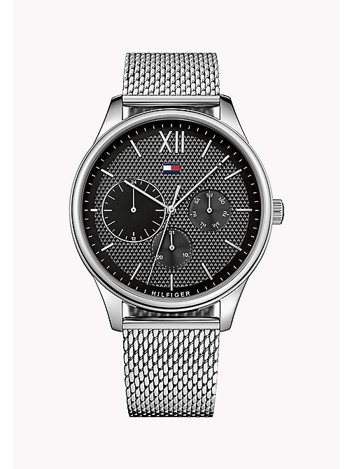 TOMMY HILFIGER Stainless Steel Mesh Strap Watch - MULTI - TOMMY HILFIGER Watches - main image