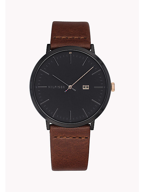 TOMMY HILFIGER James Brown Watch - BROWN - TOMMY HILFIGER Watches - main image