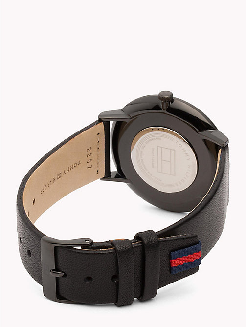 TOMMY HILFIGER Black and Blue Analogue Watch - BLACK - TOMMY HILFIGER Watches & Jewelry - detail image 1