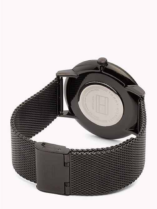 TOMMY HILFIGER Minimalist Black Watch - BLACK - TOMMY HILFIGER Watches - detail image 1