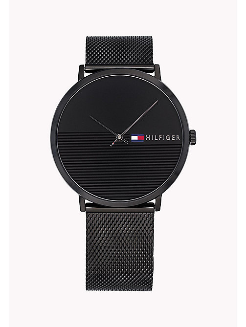 TOMMY HILFIGER Minimalist Black Watch - BLACK - TOMMY HILFIGER Watches - main image