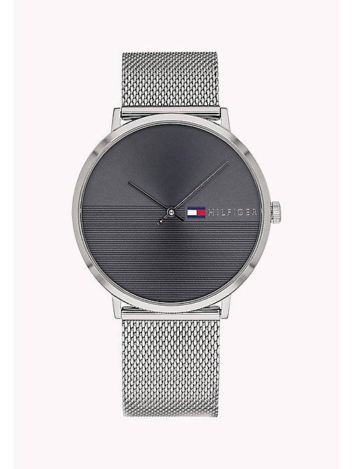 TOMMY HILFIGER Mesh Bracelet Watch - STAINLESS STEEL - TOMMY HILFIGER Watches - main image