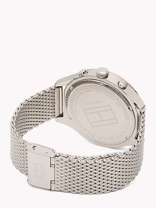 TOMMY HILFIGER Mesh Bracelet Tachymeter Watch - STAINLESS STEEL - TOMMY HILFIGER Watches - detail image 1