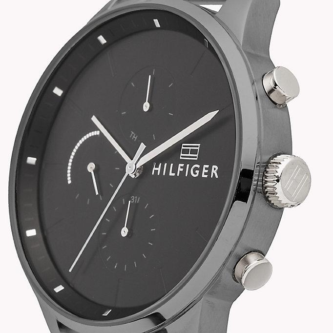 865a95280 Mesh Chain Dark Dial Watch | STAINLESS STEEL | Tommy Hilfiger