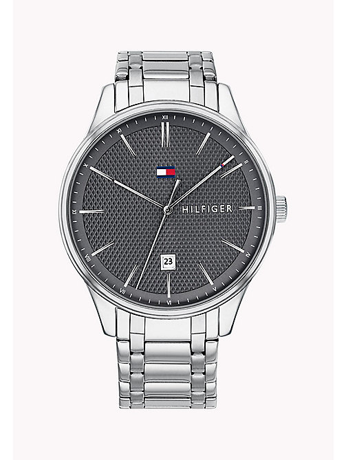 TOMMY HILFIGER Steel Numeral Watch - STAINLESS STEEL - TOMMY HILFIGER Watches - main image