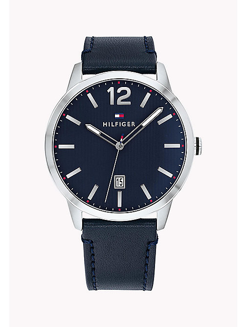 TOMMY HILFIGER Round Dial Analogue Watch - BLUE - TOMMY HILFIGER Watches - main image