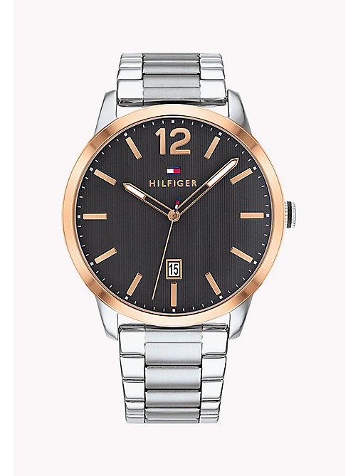 TOMMY HILFIGER Rose Gold Round Watch - STAINLESTAINLESS STEEL STEEL - TOMMY HILFIGER Watches - main image