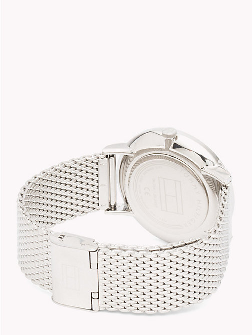 TOMMY HILFIGER Mesh Bracelet Watch - STAINLESS STEEL - TOMMY HILFIGER Watches & Jewelry - detail image 1