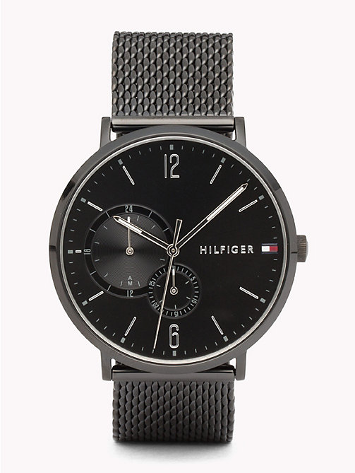 TOMMY HILFIGER Brooklyn Black IP Watch - BLACK IP - TOMMY HILFIGER Horloges - main image