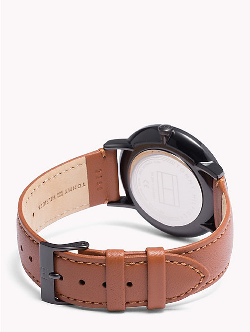 TOMMY HILFIGER Brooklyn Cognac Brown Watch - COGNAC BROWN - TOMMY HILFIGER Horloges - detail image 1