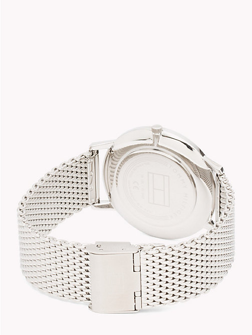TOMMY HILFIGER Mesh Bracelet Watch - STAINLESS STEEL MESH - TOMMY HILFIGER Watches - detail image 1