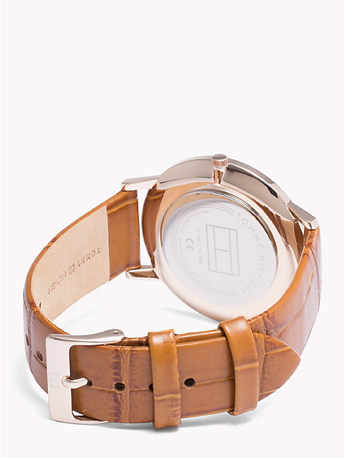 TOMMY HILFIGER Cooper Honey Brown Watch - HONEY BROWN - TOMMY HILFIGER Watches - detail image 1
