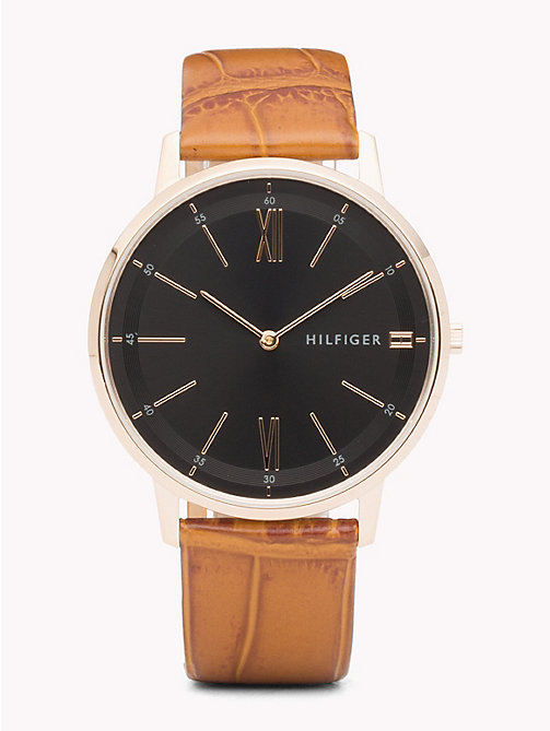 TOMMY HILFIGER Cooper Honey Brown Watch - HONEY BROWN - TOMMY HILFIGER Watches - main image