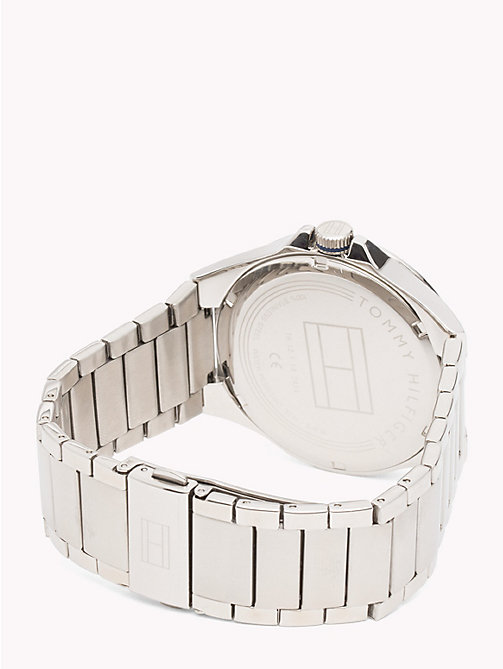 TOMMY HILFIGER Riverside Stainless Steel Watch - STAINLESS STEEL - TOMMY HILFIGER Watches - detail image 1