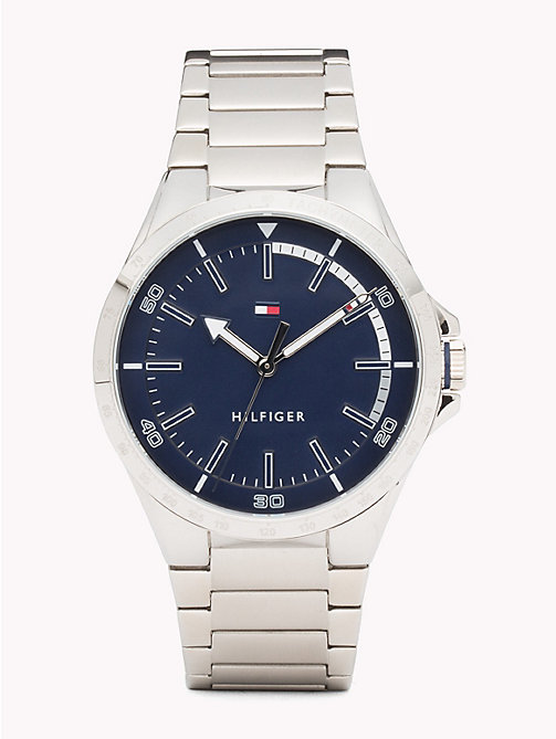 TOMMY HILFIGER Riverside Stainless Steel Watch - STAINLESS STEEL - TOMMY HILFIGER Horloges - main image