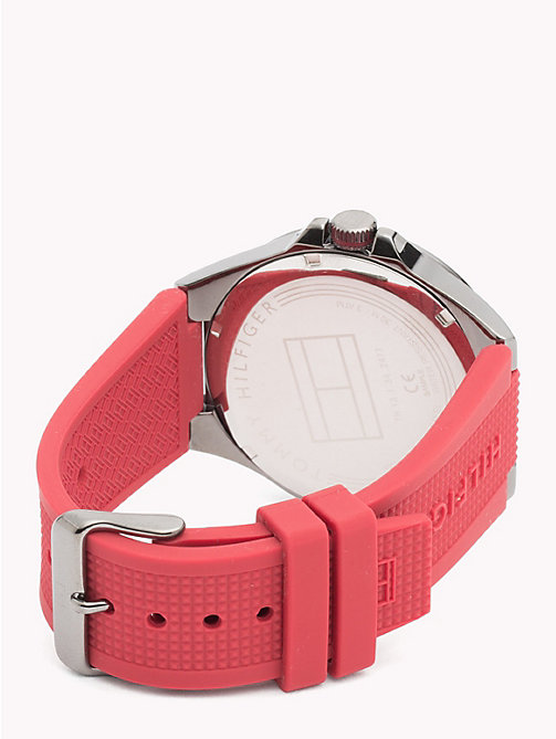 TOMMY HILFIGER Riverside Red Watch - RED - TOMMY HILFIGER Watches & Jewelry - detail image 1