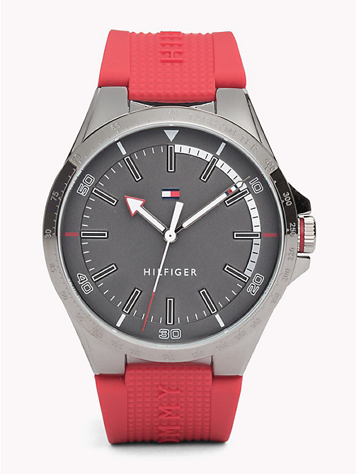 TOMMY HILFIGER Riverside Red Watch - RED - TOMMY HILFIGER Watches & Jewelry - main image