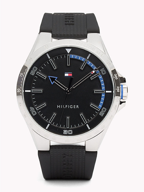 TOMMY HILFIGER Riverside Black Watch - BLACK - TOMMY HILFIGER Watches & Jewelry - main image