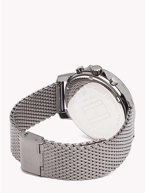 TOMMY HILFIGER Gunmetal Mesh Watch - GUNMETAL - TOMMY HILFIGER Watches & Jewelry - detail image 1