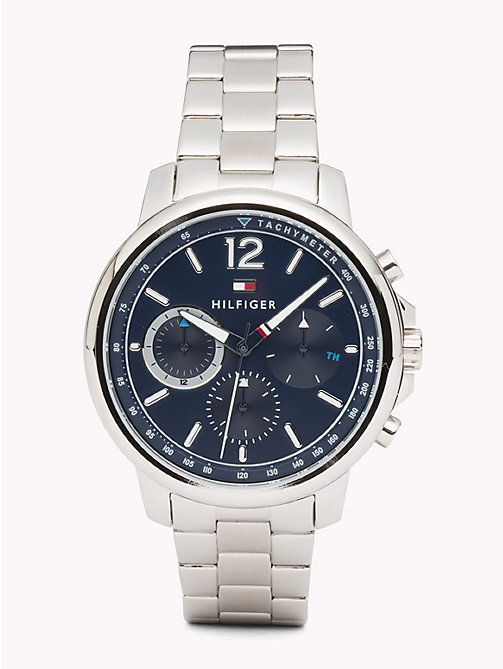 TOMMY HILFIGER Three-dial Stainless Steel Watch - STAINLESS STEEL - TOMMY HILFIGER Watches & Jewelry - main image