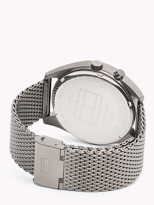 TOMMY HILFIGER Deacan Grey Steel Watch - IONIC PLATED GREY 2 STEEL - TOMMY HILFIGER Watches & Jewelry - detail image 1