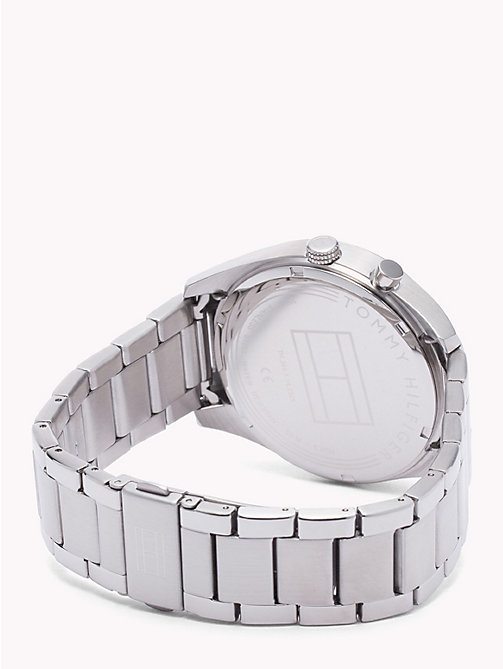 TOMMY HILFIGER Deacan Stainless Steel Watch - STAINLESS STEEL - TOMMY HILFIGER Watches & Jewelry - detail image 1