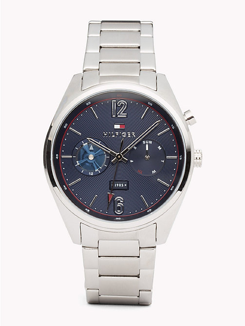 TOMMY HILFIGER Deacan Stainless Steel Watch - STAINLESS STEEL - TOMMY HILFIGER Watches & Jewelry - main image