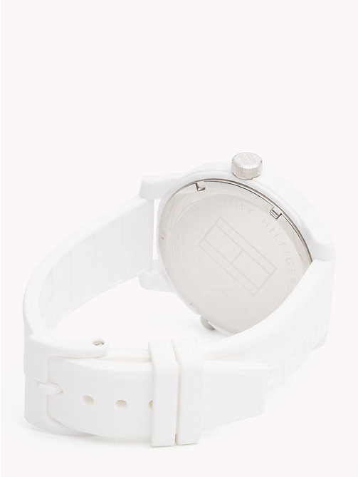 TOMMY HILFIGER Denim White Silicone Watch - WHITE SILICONE - TOMMY HILFIGER Watches & Jewelry - detail image 1