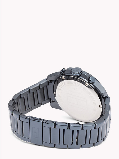 TOMMY HILFIGER Decker Blue Steel Watch - IONIC PLATED BLUE STEEL - TOMMY HILFIGER Watches & Jewelry - detail image 1