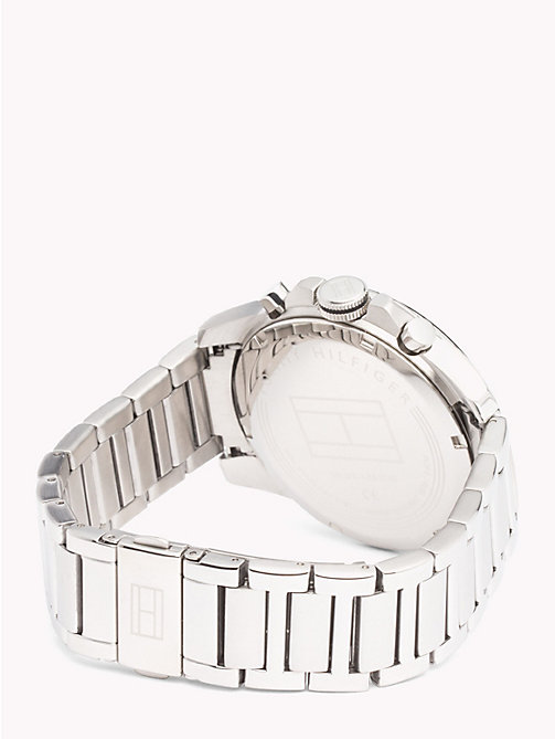TOMMY HILFIGER Decker Stainless Steel Watch - STAINLESS STEEL - TOMMY HILFIGER Watches & Jewelry - detail image 1