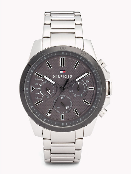 TOMMY HILFIGER Decker Stainless Steel Watch - STAINLESS STEEL - TOMMY HILFIGER Watches & Jewelry - main image